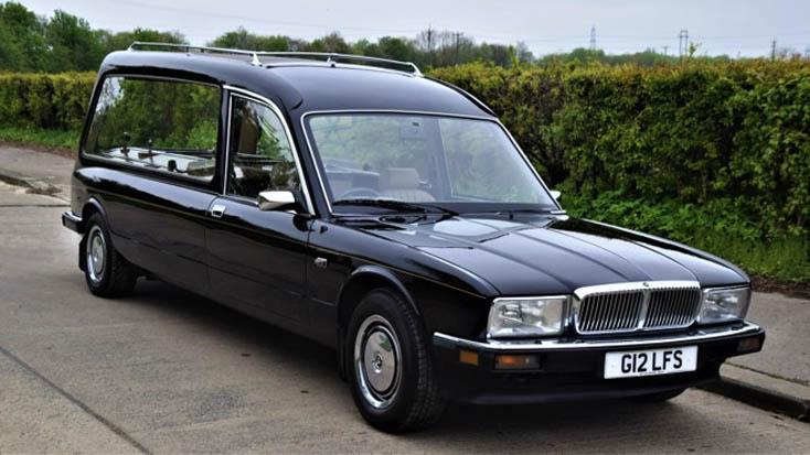 Daimler XJ40 Hearse