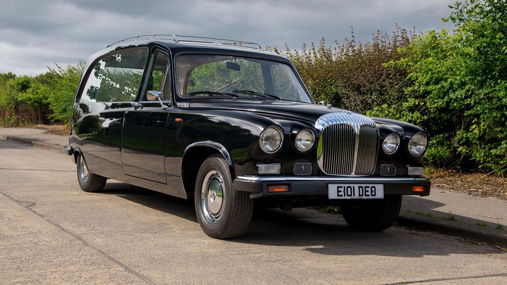 Daimler DS420 Vintage Hearse £300