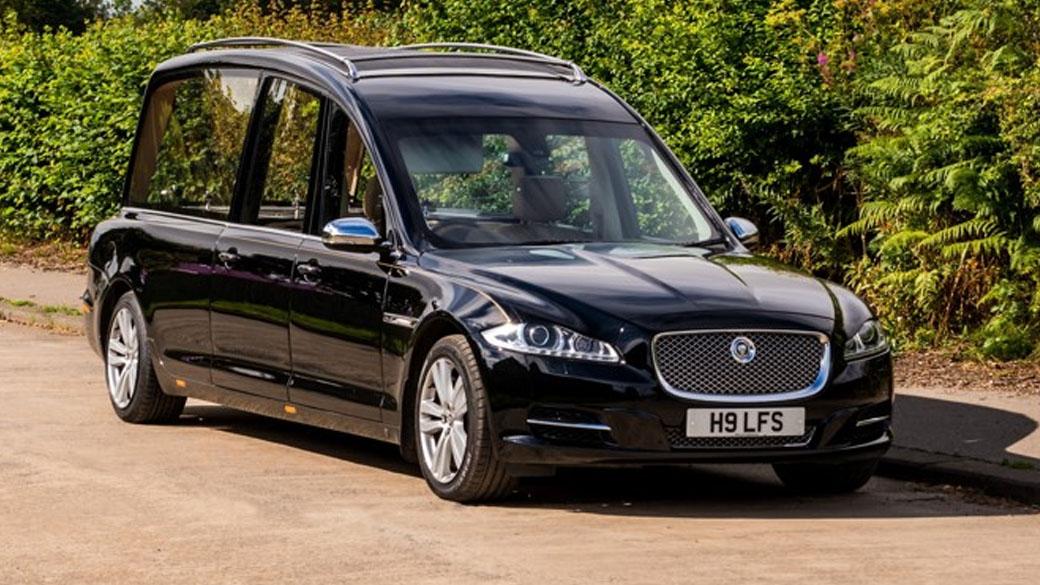 Jaguar Hearse £300